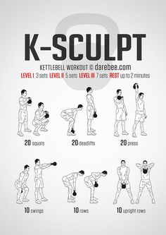 K-Sculpt  Workout | Posted By: NewHowToLoseBellyFat.com