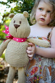 Teddy Bear Pattern. (free)