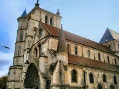 Beauvais - Oise : l'église Saint-Etienne.
