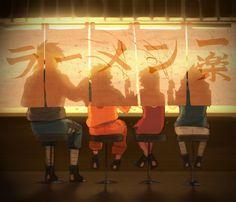 Tags: Fanart, NARUTO, Haruno Sakura, Uzumaki Naruto, Uchiha Sasuke, Hatake Kakashi, Pixiv, Team 7, kuu (artist), Fanart From Pixiv