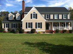 an elegant house with Prodigy siding    #ProdigySiding