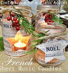 ❤ Karácsonyi hangulatú lámpás befőttes üvegből ❤Mindy -  kreatív ötletek és dekorációk minden napra