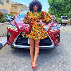 Have a Look At These Beautiful Ankara Styles: Fashion Styles For The Weekend Ankara Wedding Styles, Unique Ankara Styles, African Lace Styles, Beautiful Ankara Styles, Latest Ankara Styles, Latest Ankara Short Gown, Ankara Short Gown Styles, Short Gowns, African Fashion Ankara