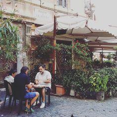 Puistolan bistro: Kaupunkimatkailua taaperon kanssa - Rooma