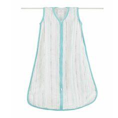 Sleeping Bag- Bamboo Beads Azure - Sleeping Bag - Baby Belle