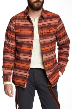 JACHS Thick Long Sleeve Shirt by JACHS on @HauteLook - Hate the hanging braces look though.