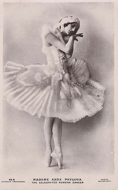 Anna Pavlova vintage ballet ballerina photo by Ballet-school.ru, via Flickr