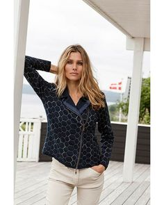 Blue Willi's Zip Cardigan from the Spring Collection. Spring Collection, Fashion Outfits, Womens Fashion, Cardigans For Women, Modern Fashion, Melting Pot, Zip, Stylish, My Style
