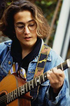 Sean Lennon Playing Guitar