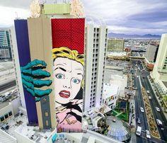 Fed onto Street art Album in Art Category Murals Street Art, Street Art Utopia, Mural Art, Street Art Graffiti, Wall Murals, Just Kids, Las Vegas, Urbane Kunst, Best Street Art
