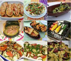 Cinco sentidos na cozinha: Nove receitas com courgette- Legumes do mês de Jul...