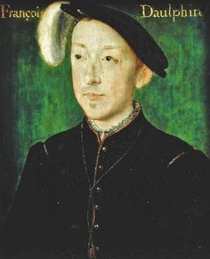6th Child of Claude de France - Charles de France (1522-45) Duke of Orleans by Corneille de Lyon (c.1500-75)