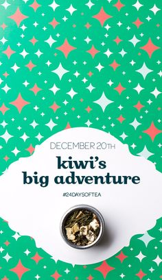 [DAY 20 - 24 DAYS OF TEA: KIWI'S BIG ADVENTURE] Bogus trip or fantastic voyage? We want to hear your thoughts!
