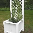 Ana White | Build a Planter Box with Trellis | Free and Easy DIY Project and Furniture Plans