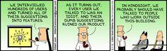 UX, Usabilidad y Dilbert