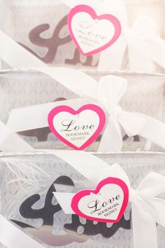 """Love"" Bookmarks available at Diamond Excellence Weddings & Other Finer Events 