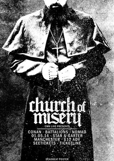 Church Of Misery // Conan // Battalions // Nomad