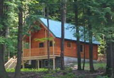 Conestoga Log Cabins has been providing quality small cabin kits to customers since Contact us today for more information on our Vacationer Log Cabin. Prefab Log Cabins, Log Cabin Kits, Camping Resort, Hunting Cabin, Cabins And Cottages, Cabins In The Woods, Vacation, House Styles, Home