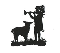 child's wall decor silhouettes - Google Search
