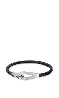Hermès | Jumbo Jet leather bracelet