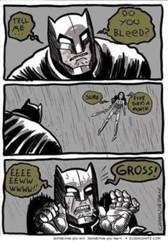 Nothing fazes Batman. ALmost.