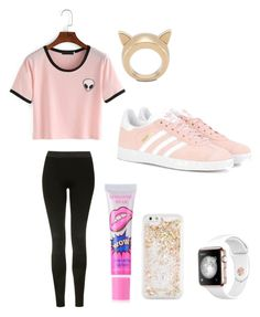 """Love this"" by ay0ava on Polyvore featuring Topshop, STELLA McCARTNEY, ban.do and adidas Originals"