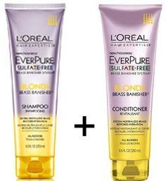 Kit Loreal Everpure Blonde Shampoo 250ml + Conditioner 250ml    Vendas: http://produto.mercadolivre.com.br/MLB-752527777-kit-loreal-everpure-blonde-shampoo-250ml-conditioner-250ml-_JM