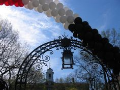 Old Queens Gate on the first Rutgers Day