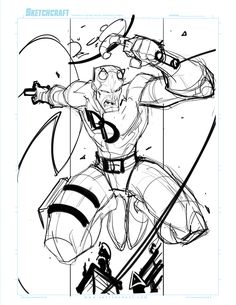 Commish 117 WIP 01 by RobDuenas.deviantart.com on @deviantART