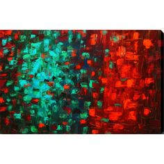 YGC tract 'Cosmos' Giclee Canvas Art