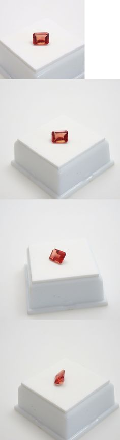 Labradorite 164393: Stunning! Orange Labradorite - 1.40Ct - 8X6mm - Emerald Cut - Loose Gemstone -> BUY IT NOW ONLY: $122.99 on eBay!