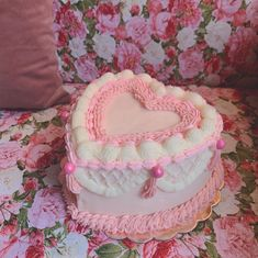Pretty Cakes, Cute Cakes, Beautiful Cakes, Amazing Cakes, Soul Cake, Instagram Heart, Heart Shaped Cakes, Cute Birthday Cakes, Valentines Day Cakes