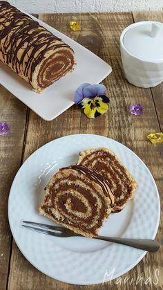 MarinaS Taste: Doboš rolat Bulgarian Recipes, Croatian Recipes, Cookie Recipes, Dessert Recipes, Chocolate Bowls, Torte Recipe, Kolaci I Torte, Torte Cake, Lava Cakes