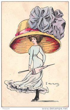 E. Mouton postcard