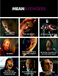 Meanvengers