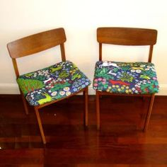 Reclaimed 50s scandinavian teak chair