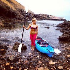 #ROXYOutdoorFitness ambassador Katie McLean goes kayaking in the Channel Islands. Read the story & get her tips.