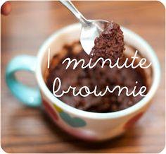 Desserts on Pinterest | Vegan Brownie, Mug Brownies and Pumpkins