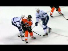 ▶ Jakub Voracek splits the D to score a dandy - YouTube