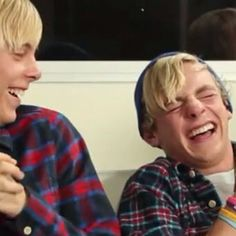Fact: Riker and Ross both cry when they laugh hard. #rikoss