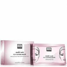 Revive tired, weary eyes with Erno Laszlo Multi-Task Eye Serum Mask, a saturated eye mask infused with a cocktail of powerful ingredients to tackle signs of ageing and fatigue around the delicate eye area. Targeting dark circles, puffiness, fine lines and wrinkles, the silky, serum-infused eye mask acts as an #BestEyeSerum Dry Under Eyes, Best Eye Serum, Skin Chemists, Erno Laszlo, Eye Lift, Face Wrinkles, Face Mask Set, Eye Contour, Eyes