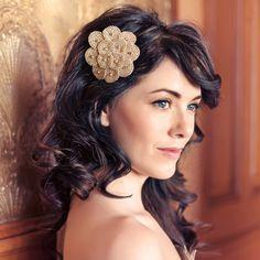 Multi Cubic Circles Headband from Poppyhearts for $29.99 Renegade Craft Fair, Craft Fairs, Gatsby, Headbands, Special Occasion, Circles, Hair Accessories, Elegant, Handmade