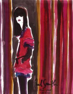 ISSUU - Izak Zenou Haute Couture Illustration by Traffic Creative Management