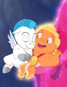 Hercules and baby Pegasus :)