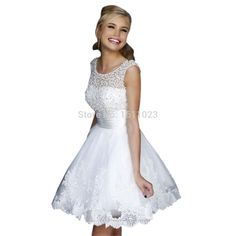 Cheap dress white dress, Buy Quality dress up santa games directly from China dress ol Suppliers: 			White Short Dresses Sexy Bridal Wedding Lace Wedding Dress Wedding Dress Wedding Dress 				    								Feature:		100%