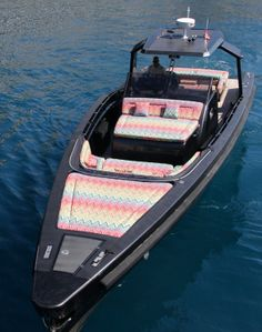 Missoni Home on board Told U So super yacht Super Yachts, Travel Organization, Home Collections, Missoni, Luxury Travel, Ship, Board, Luxury Yachts, Ships