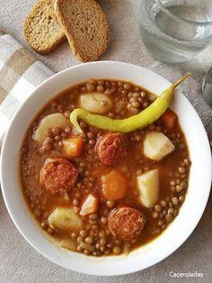 Yami Yami, Cooking Recipes, Healthy Recipes, Ratatouille, Chana Masala, Chili, Beans, Food And Drink, Health Fitness
