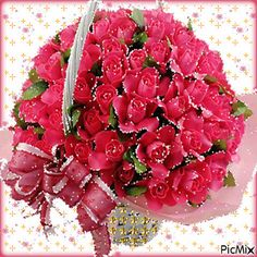 Moving Pictures, Love Flowers, Fruit, Gifs, Roses, Glitter, Bunch Of Red Roses, Hearts, Places