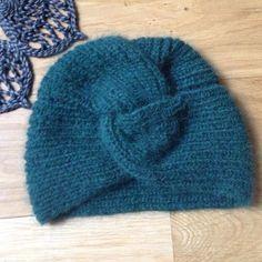 bonnet turban Drops air Atelier de la creation