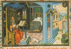 Anoniem, Meditations of St. Augustin, Brugge, eind 15e eeuw, Bibliotheek Albert I, Brussel, Rijksmuseum Catherijneconvent Utrecht Art Unlimited 1993 (postkaart)